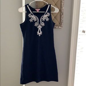 Navy Lilly dress